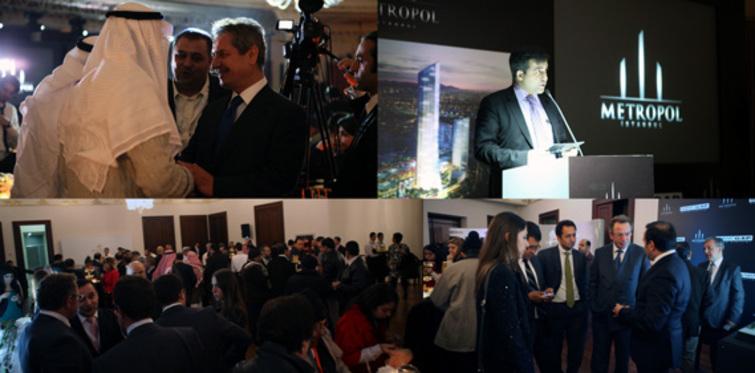 Metropol İstanbul Arap yatırımcıları ağırladı