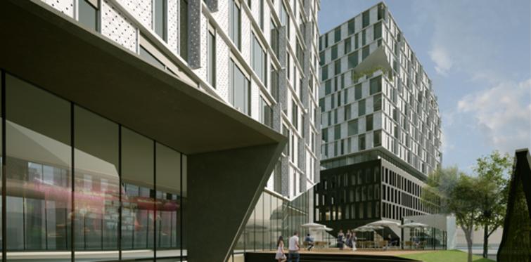 Nef 09 Offices'in metrekaresi 4 bin 700 dolar