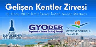 GYODER Gelişen Kentler Zirvesi İzmir'de