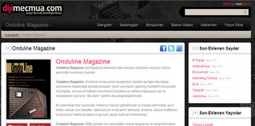 Onduline Magazine dijital oldu