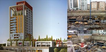 Newista Residence'ın inşaatı tüm hızıyla devam ediyor
