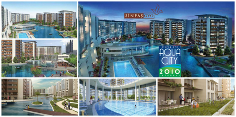 Aqua City 2010'da son daireler