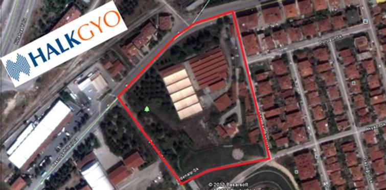 Halk GYO ikinci projesini Eskişehir'e yapıyor