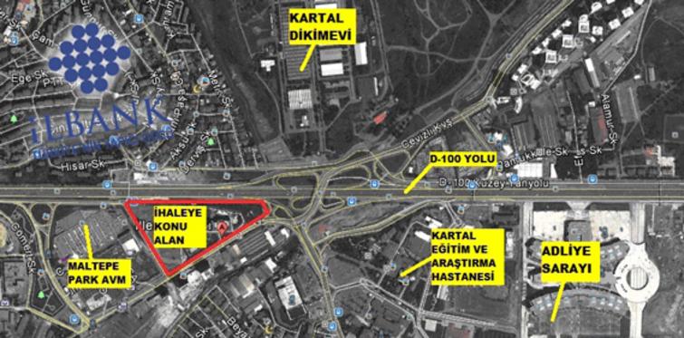 İller Bankası'ndan Maltepe'de arsa ihalesi