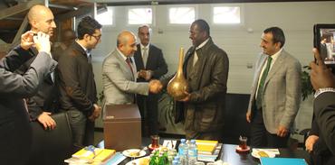 Gabon Milli Savunma Bakanı Vefa'yı ziyaret etti