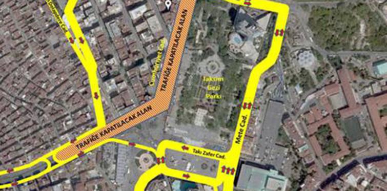 Taksim Topçu Kışlası reddedildi