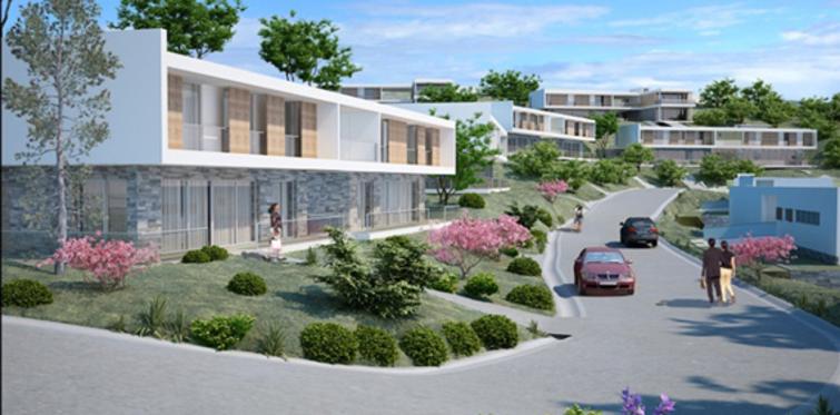 Villa Gizlibahçe'de özel havuz keyfi var