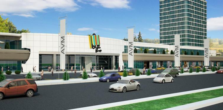 Kayseri'nin ilk AVM–otel konsepti kapilarini açiyor!