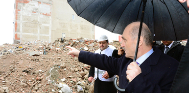Dönüşümün 113. gününe 113. bina yıkımı