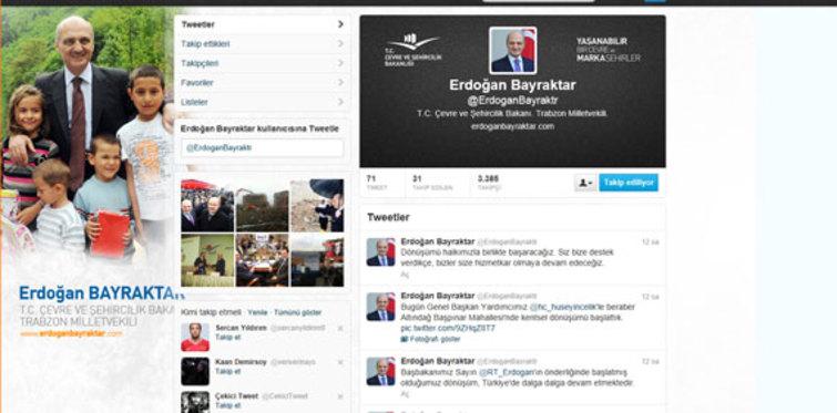 Bakan Bayraktar Twitter'da dönüşümü anlatıyor