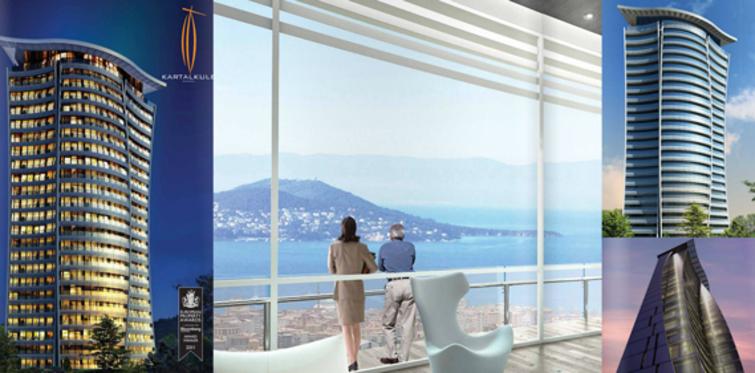 Adalar manzaralı ofisler 365 bin lira