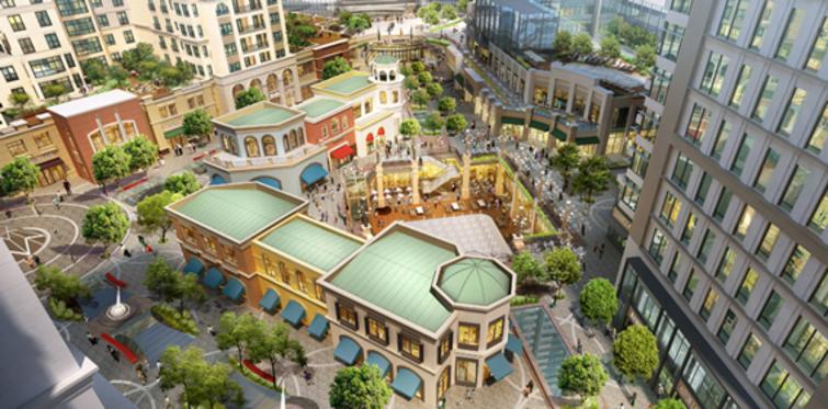 Emaar Square'de fiyatlar 234,888 dolardan başlıyor