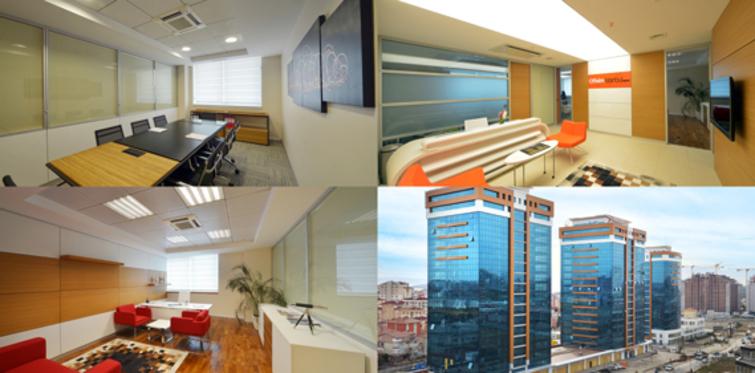Ofisim İstanbul modern ve şık ofisleriyle hazır