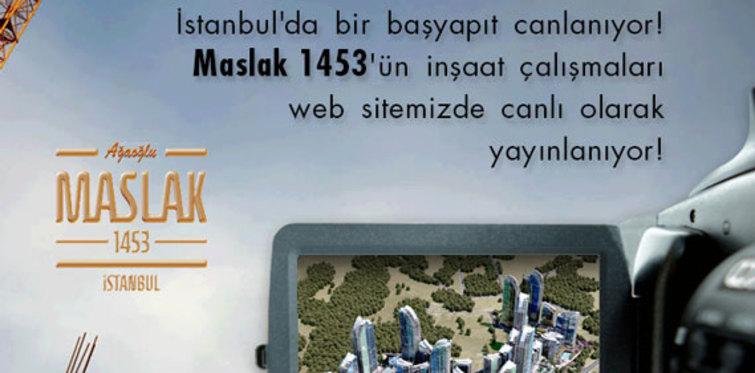 Maslak 1453 canlı yayında