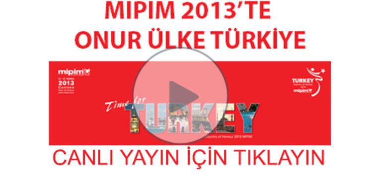 MIPIM emlakwebtv'de canlı yayında