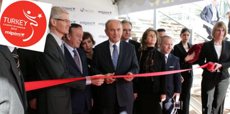 MIPIM zirvesine Türkiye çıkartması