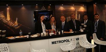 Türk kahveli Metropol İstanbul standı doldu taştı