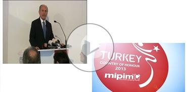 Kadir Topbaş MIPIM'de Türkiye çadır açılışını gerçekleştirdi