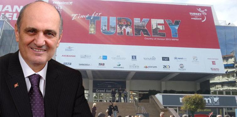 MIPIM'den Erdoğan Bayraktar'a Özel Ödül