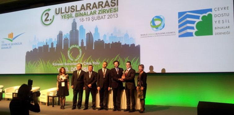 Yeşil bina danışmanı Altensis kendi binası ile ödül aldı