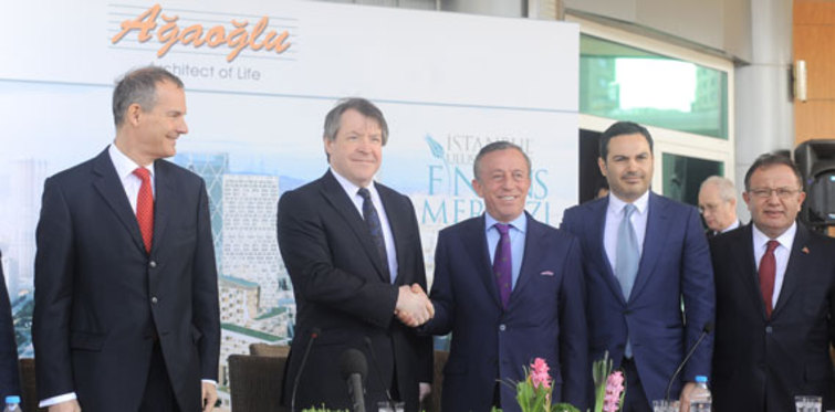 İstanbul Finans Merkezi'ne Londra'dan destek geldi