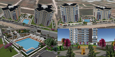 Bursa'nın ilk 3 boyutlu inşaat projeleri ziyarete açıldı