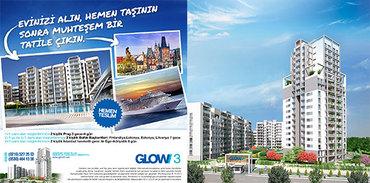 GLOW3'ten ev alanlar tatil kazanıyor