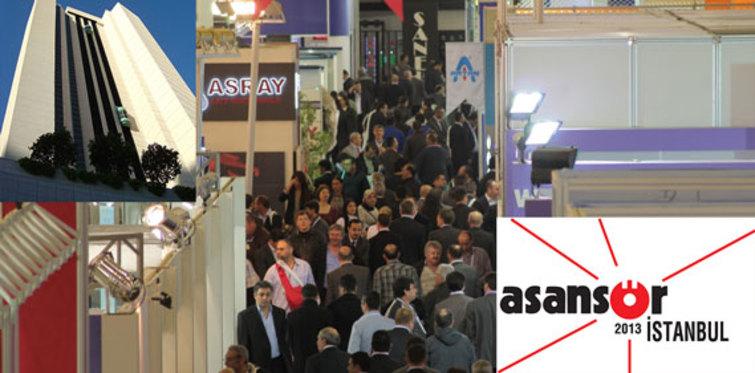 Asansör İstanbul 2013 Fuarı, 4 Nisan'da başlıyor