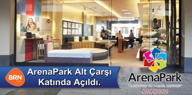 BRN Yatak, Arena Park AVM'de