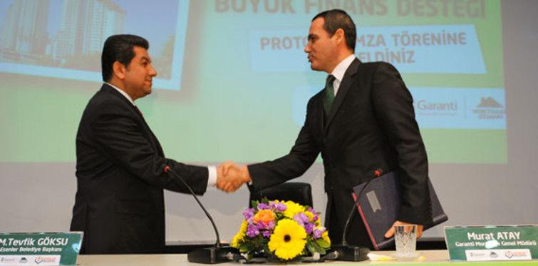 Garanti'den kentsel dönüşüme büyük finans desteği