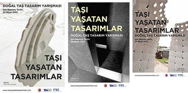 Türkiye ve  KKTC'de 'Taşı yaşatan tasarımlar' aranıyor