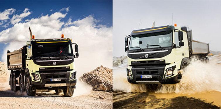 Yeni Volvo FMX, daha verimli