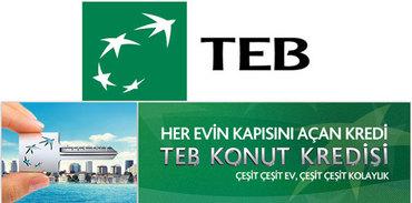 TEB'de konut kredisi kampanyası var