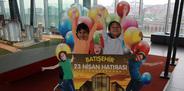 Çocuklar 23 Nisan coşkusunu Batışehir'de yaşadılar