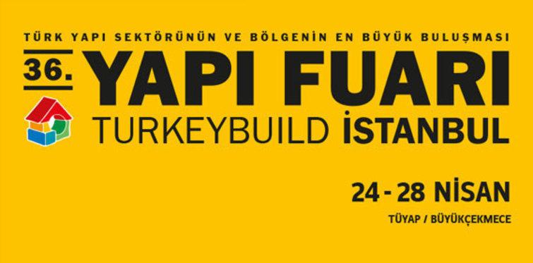 Yapı Fuarı Turkeybuild İstanbul yarın başlıyor