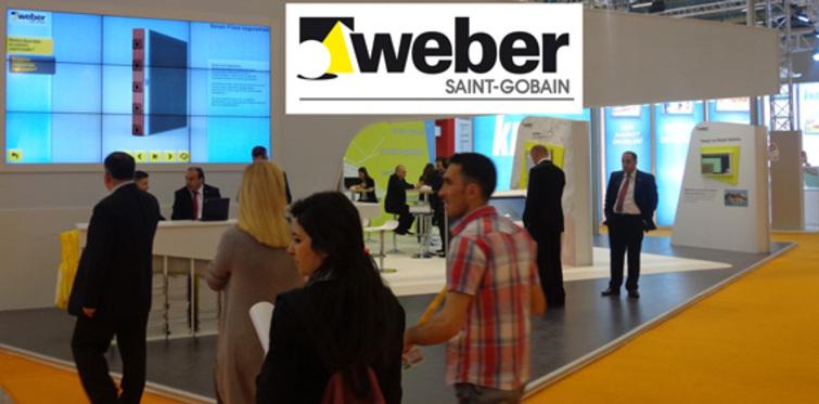 Saint-Gobain Weber yenilikçi çözümlerini Yapı Fuarı'nda tanıttı