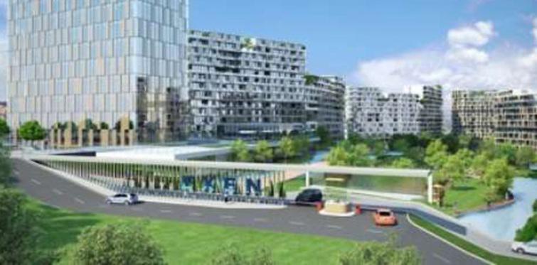 Exen İstanbul'un 1. ve 2. etabında yaşam başladı