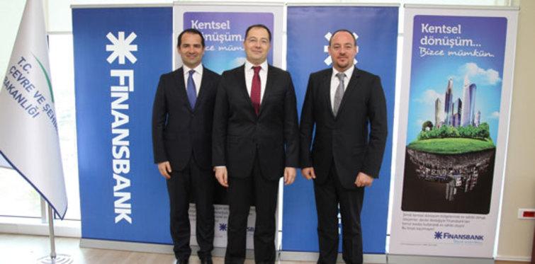 Finansbank'tan kentsel dönüşüme destek