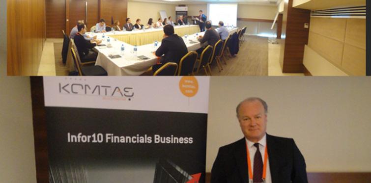 KOMTAŞ, CFO'lara İş Zekası Çözümlerini anlattı