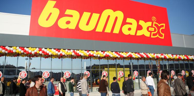 Yapı marketi devi bauMax Eskişehir'de