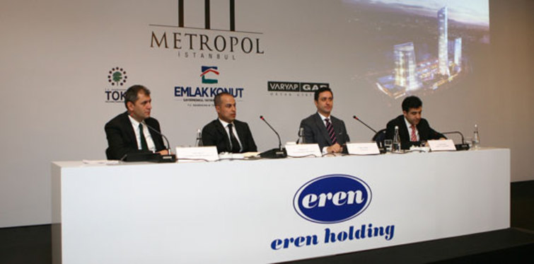 Eren Holding, Metropol İstanbul'a taşınıyor
