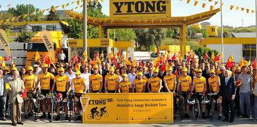 Ytong'la Anıtkabir'e bisiklet turu