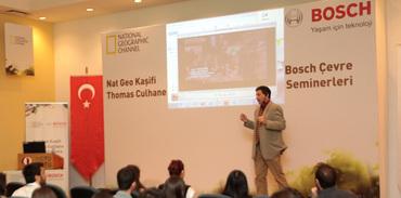Nat Geo Kaşifi Thomas Culhane öğrencilerle buluştu