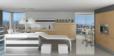 Kale'den özgün tasarımlı mutfak: Menta and Chervil
