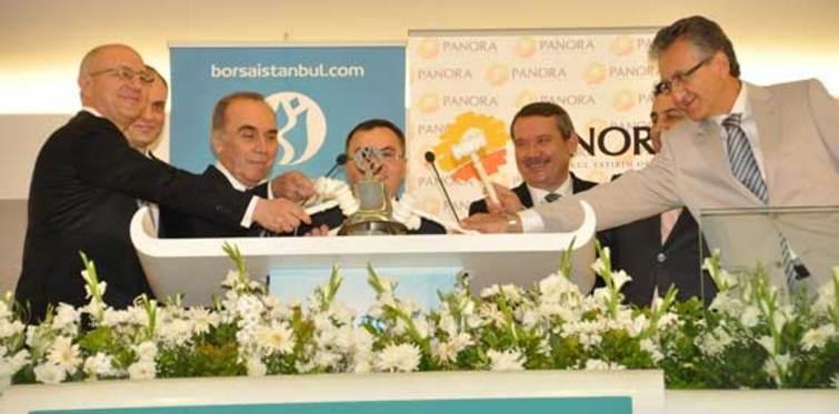 Borsa İstanbul gongu Panora GYO için çaldı