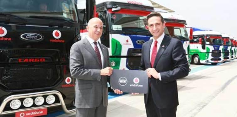 Vodafone ve Ford Otosan bir araya geldi