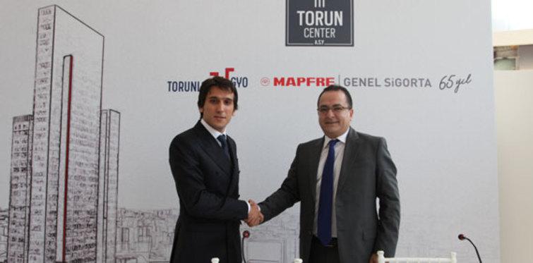 Torun Center ofis kulesi, Mapfre Genel Sigorta'nın merkezi olacak