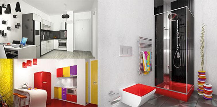 Banyo ve mutfaklarda İtalyan tasarımı