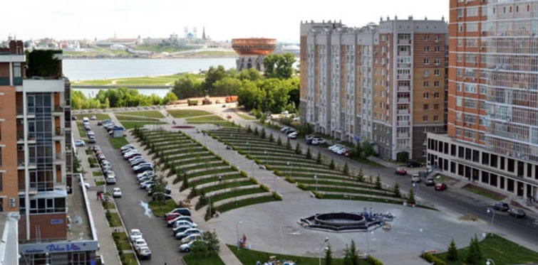 Hakan Kıran imzasını taşıyan Kazan'daki İstanbul Park açıldı