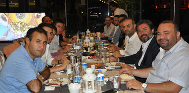 TÜGİAD üyeleri NFN Grup yemeğinde buluştu